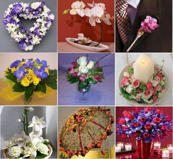 Работа флористом