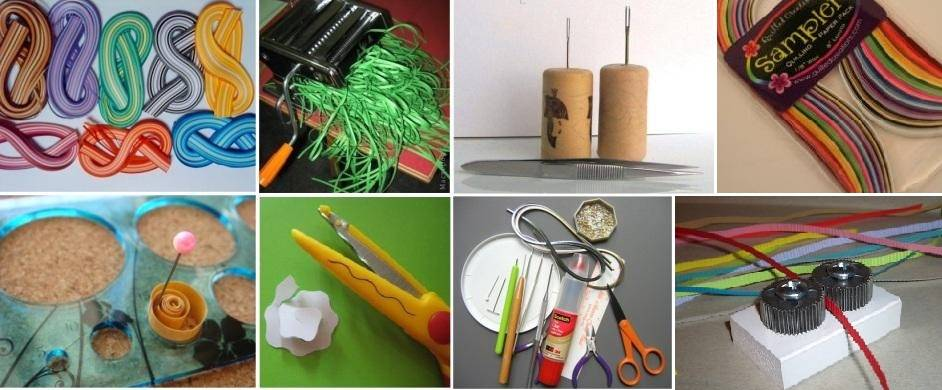 инструменты для работы в технике квиллинг