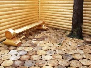 бизнес в деревне - дорожки деревянные