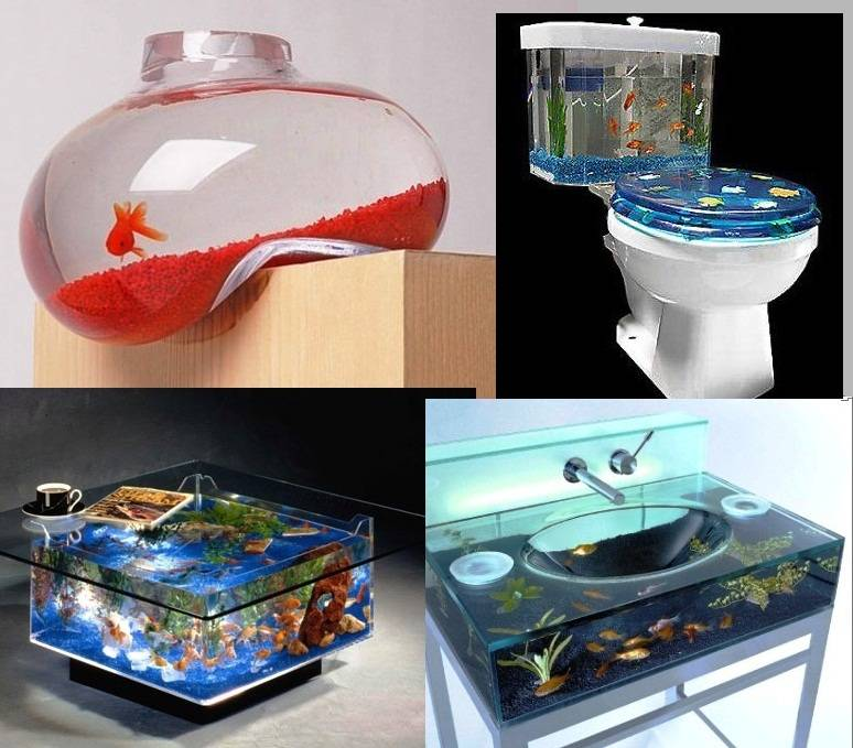 оригинальные аквариумы