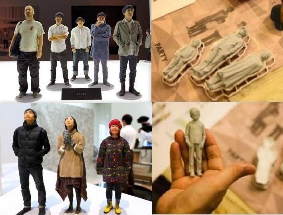 Прикольная бизнес идея - создание 3D-моделей людей