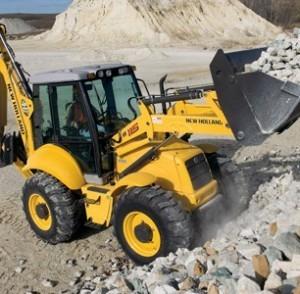 Использование грузовых машин в строительных работах
