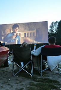 Как открыть кинотеатр под открытым небом