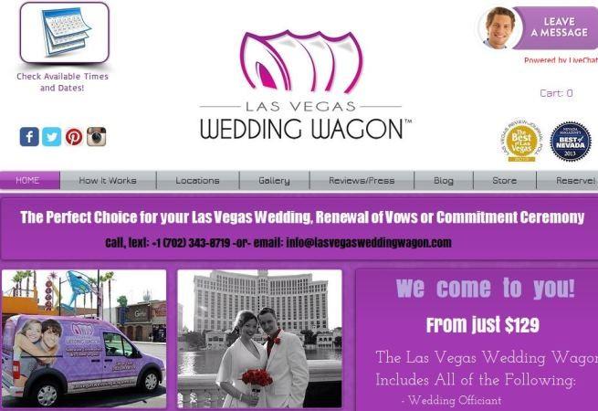 Бизнес - свадебная церемония на колесах