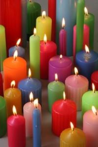 Креативная бизнес идея: изготовление разноцветных свечей