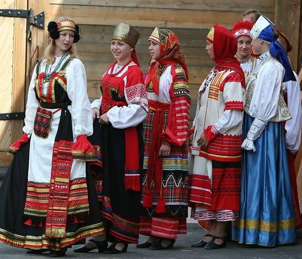 пошив русской национальной одежды