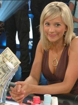 Необычный женский заработок – онлайн покер