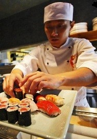 Передвижная японская кухня