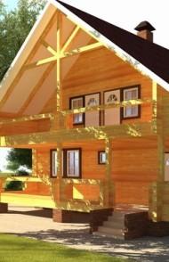 Бизнес идея. Строительство деревянных домов