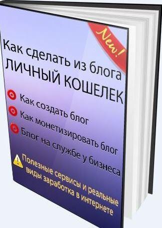 """Электронная книга """"Как из блога сделать личный кошелек"""""""