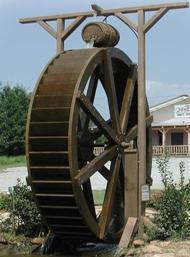Бизнес идея. Водяное колесо