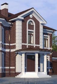 Как самостоятельно преобразить фасад дома