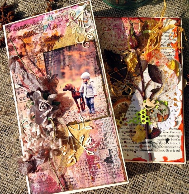 Новое рукоделие - flower cards