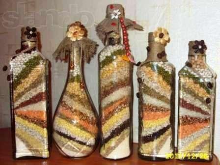 Баночки и бутылочки своими руками