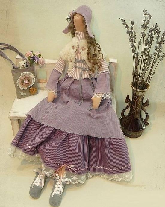 Кукла Тильда - направление в современном творчестве.