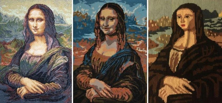 Джоконда, Мона-Лиза - как ее правильно вышивать.