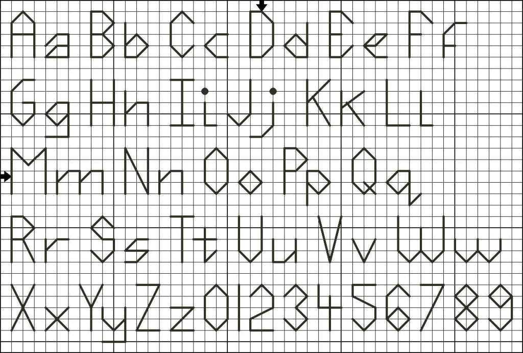 Как сделать буквы бэкстичем?